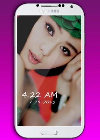 White Samsung Galaxy S4 PSD Mockup