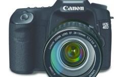 Canon EOS Zoom Lens Vector