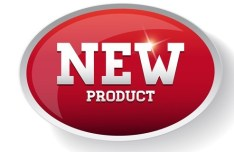 Red New Product Sticker Tag Vector 01