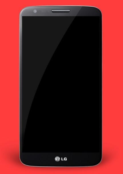 LG Optimus G2 PSD Mockup