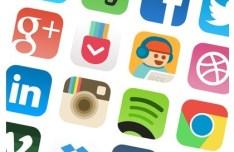 Resigned iOS 7 App Icons PSD