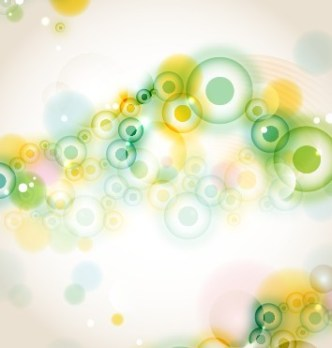 Blue and Green Abstract Vector Background 02