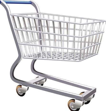 Vector Shopping Trolley 02