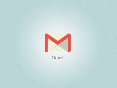 Flat Gmail Icon (AI+PSD)