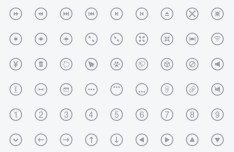 Metrize Icon Set