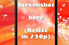 Dark Sony Xperia Z Ultra PSD Template