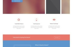 Dayoh Landing Page PSD Template