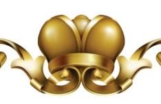Decorative Vintage Royal Crown Vector