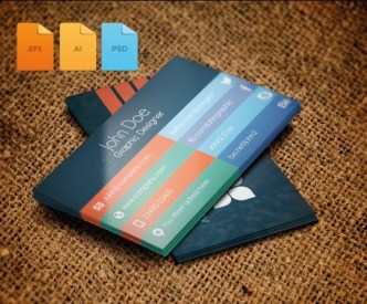 Fashion and Flat Business Card Template