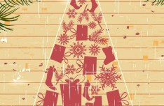 Creative Christmas Tree Design Elements Vector 04