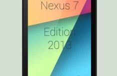 Flat Black Nexus 7 PSD Template