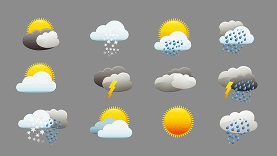 Animated Weather Icons (GIF+AE Project)