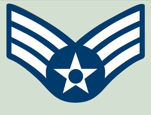 USAF E-4 Senior Airman