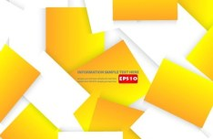 Clean Colored Squares Background Vector 03