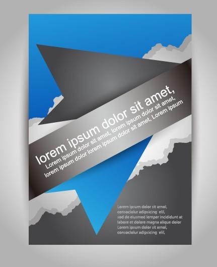 Corporate Business Brochure Design Vector 04