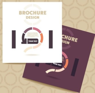 Fashion Flat Business Brochure Design Vector 01