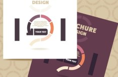 Fashion Flat Business Brochure Design Vector 01