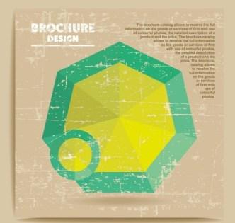 Fashion Flat Business Brochure Design Vector 02
