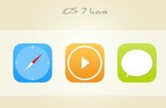 30 Sweet iOS 7 Icons PSD