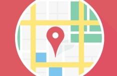Flat Map Mockup