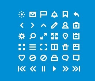 36 Tiny Icon Set PSD