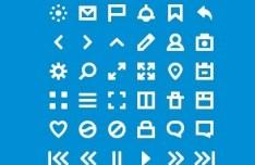 36 Tiny Icon Set PSD
