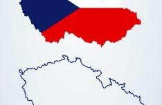 Czech & Slovak Maps Vector