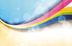 Fantastic & Colorful Abstract Background Vector 03