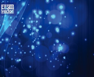 Sparkling Abstract Lights and Halos Background Vector 02