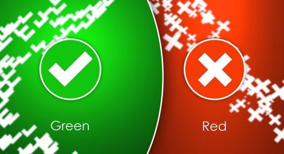 Green & Red PSD Brush