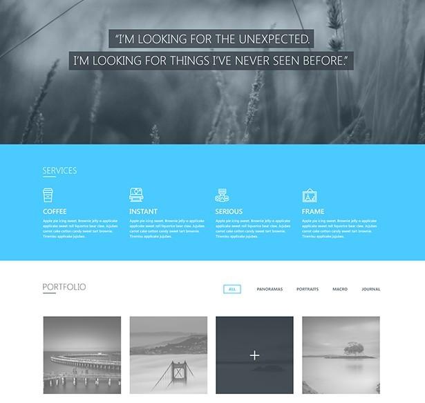 Blueasy Website Template PSD