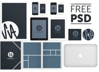 SvA - Corporate Design MockUp PSD