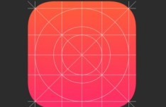 iOS 7 Icon Grid Template (FW PNG)