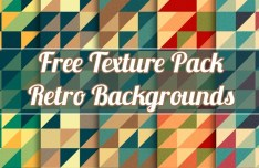 Retro Abstract Shapes Texture Pack