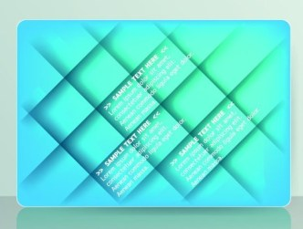 Set Of Colored Card with Abstract Shapes Background Vector 03