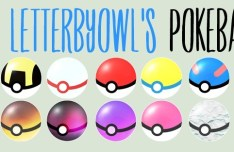Simple Pokeball Icons Pack