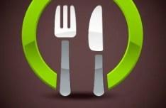Creative Restaurant Logo Design Vector 03