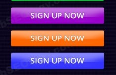 Set Of Colorful Sign Up Now Buttons PSD