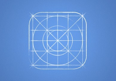 Free ios 7 icon grid blueprint psd titanui ios 7 icon grid blueprint psd malvernweather Gallery