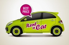 Car Rental Vector