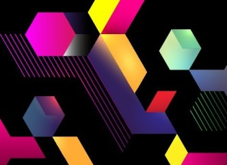 Colorful Abstract Blocks Vector