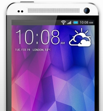 High Resolution White HTC One PSD Mockup Template