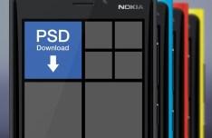Nokia Lumia 920 Templates PSD