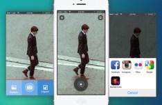 Full View Camera App UI PSD