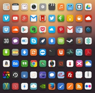 Pacifica Rounded App Icon Set
