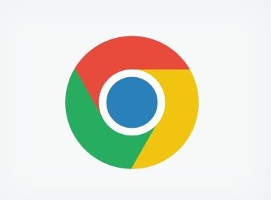 Round Flat Chrome Icon PSD