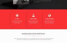 Bird View Business Website PSD Template