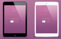 New iPad Air Mockup PSD