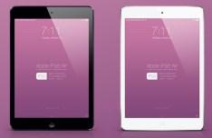 New iPad Air Mockup PSD