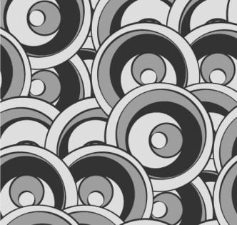 Simple Vintage Swirl Pattern Vector 02